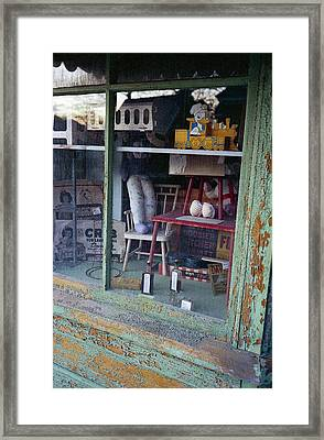 Old Country Store Display In Virginia Framed Print by Thomas D McManus