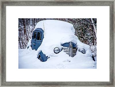 Old Coupe Framed Print by Alana Ranney