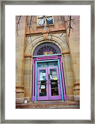 Old Court House In Evanston Wyoming - 1 Framed Print by Ely Arsha