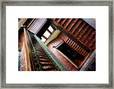 Old Court House In Evanston Wyoming - 2 Framed Print by Ely Arsha