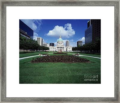 Old Courthouse Framed Print by Rafael Macia