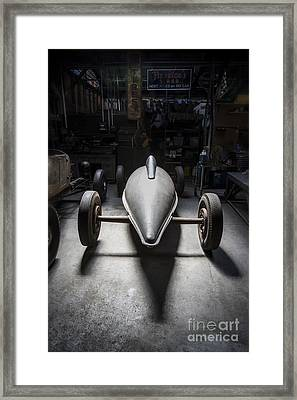 Old Crow Belly Tanker- Metal And Speed Framed Print