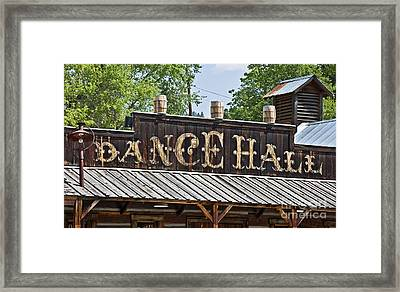 Old Dance Hall Framed Print