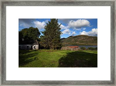 Old Desarted Farm Near Drishaghaun Framed Print by Panoramic Images