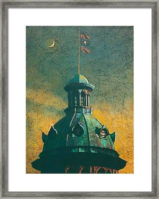 Old Dome Framed Print by Blue Sky
