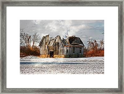 Old Dreams Framed Print by Cheryl Cencich