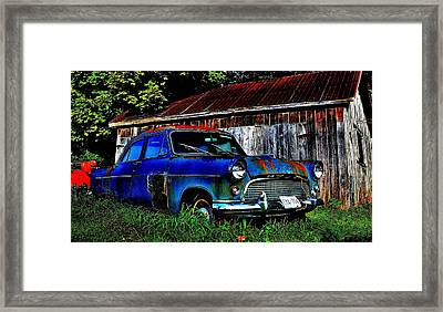 Old Dreams - Perspective 1 Framed Print