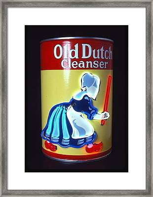 Old Dutch Cleanser Framed Print by Pacifico Palumbo