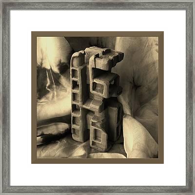 Old Dwellings Framed Print by Barbara St Jean