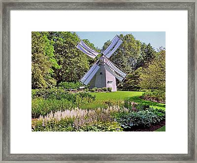 Old East Windmill  Framed Print by Janice Drew