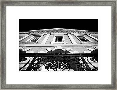 Old Exchange Building Framed Print by John Rizzuto