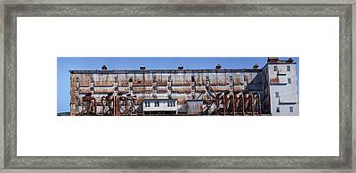 Old Factory, Montreal, Quebec, Canada Framed Print by Panoramic Images