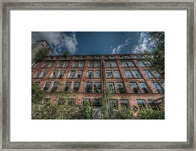Old Factory Framed Print by Nathan Wright