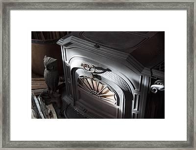 Old Faithful Framed Print