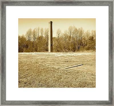 Old Faithful Smoke Stack Framed Print