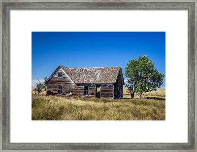 Old Farm House 1 Framed Print