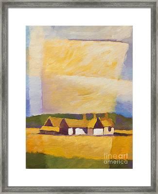Old Farm Framed Print by Lutz Baar