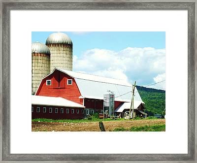 Old Farms Series 070 Framed Print