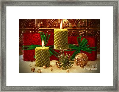 Old Fashion Christmas Framed Print by Inspired Nature Photography Fine Art Photography