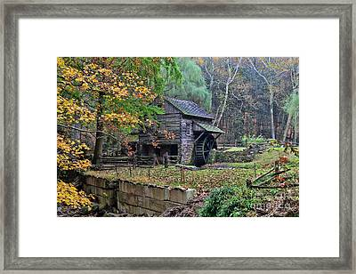 Old Fashion Mill Framed Print