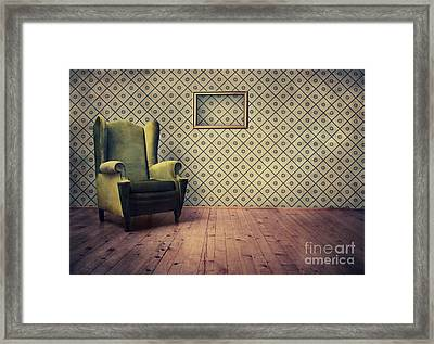 Old Fashioned Armchair Framed Print by Jelena Jovanovic