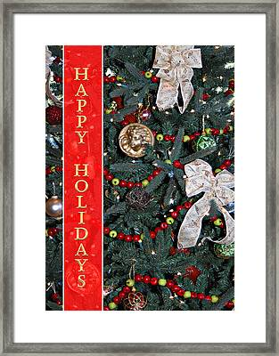 Old Fashioned Christmas Framed Print by Carolyn Marshall