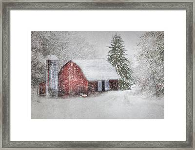 Old Fashioned Christmas Framed Print by Lori Deiter