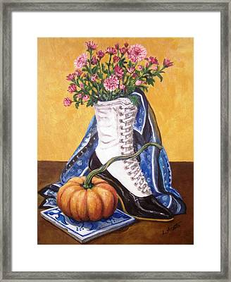 Old Fashioned Fall Framed Print