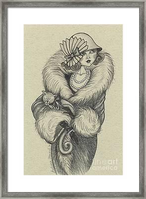 Old-fashioned Framed Print by Snezana Kragulj
