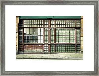 Old Fashioned Window Framed Print by Tom Gowanlock