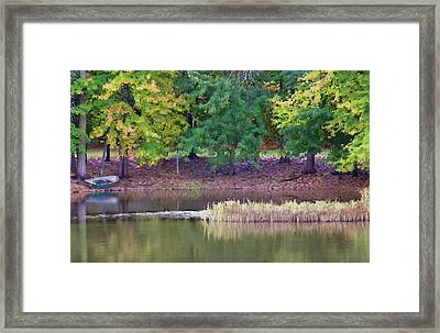 Old Fishing Boat Framed Print by John Crothers