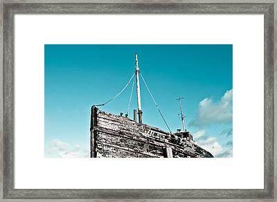 Old Fishing Boat Framed Print by Tom Gowanlock