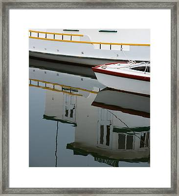 Old Fishing Boats Framed Print by Rande Cady
