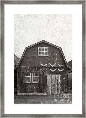 Old Fishing Shack Pei Framed Print by Edward Fielding