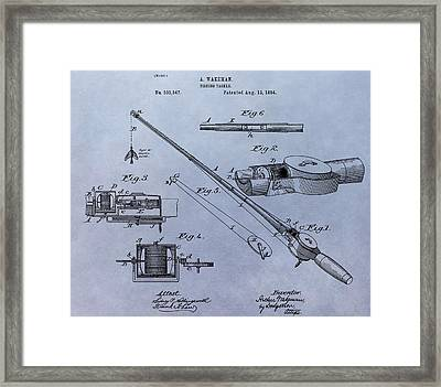 Old Fishing Tackle Framed Print