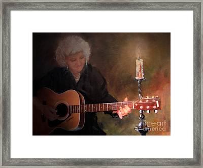 Old Flames Framed Print by Sharon Burger