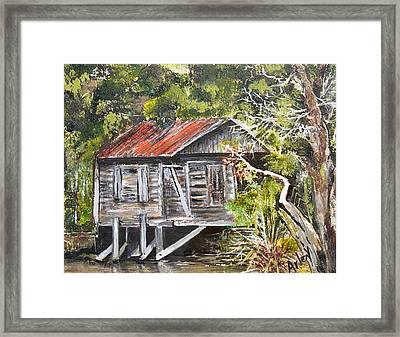 Old Florida Framed Print