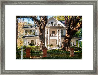 Old Florida Grandeur Framed Print by Cliff C Morris Jr