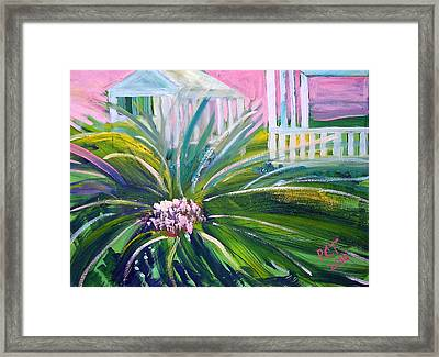 Old Florida Framed Print by Patricia Taylor