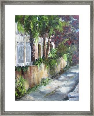 Old Florida Steamboat House Framed Print by Susan Richardson