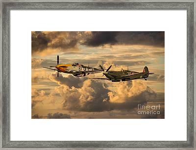 Old Flying Machines  Framed Print by J Biggadike