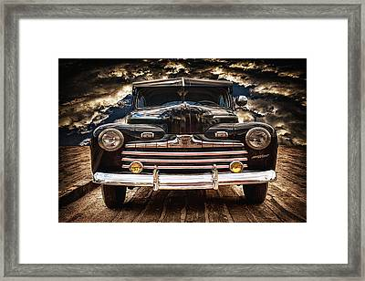 Framed Print featuring the photograph Old Ford 2 ... by Chuck Caramella