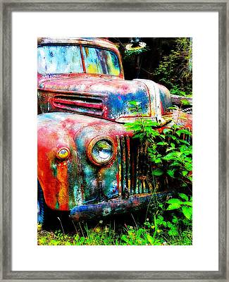 Old Ford #2 Framed Print by Sandy MacGowan