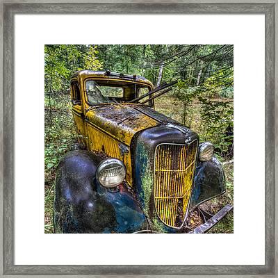 Old Ford Framed Print by Paul Freidlund