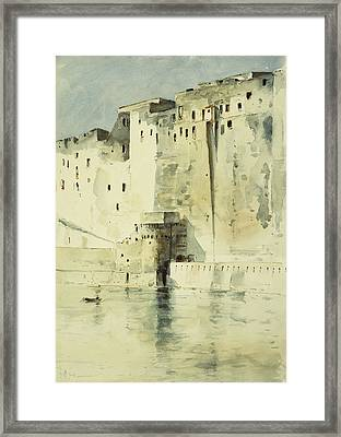 Old Fortress Naples Framed Print