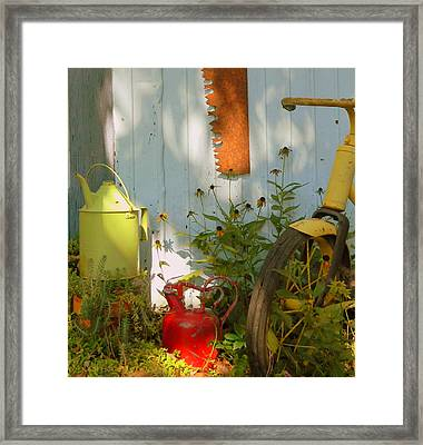 Old Friends Framed Print by Kathy Barney