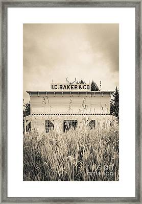 Old General Store Framed Print by Edward Fielding
