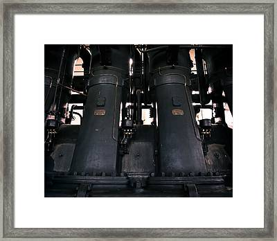 Old Generator Framed Print by Akos Kozari