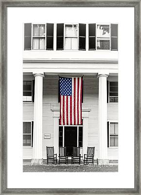 Old Glory Est. 1776 Framed Print