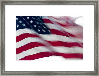 Old Glory Framed Print